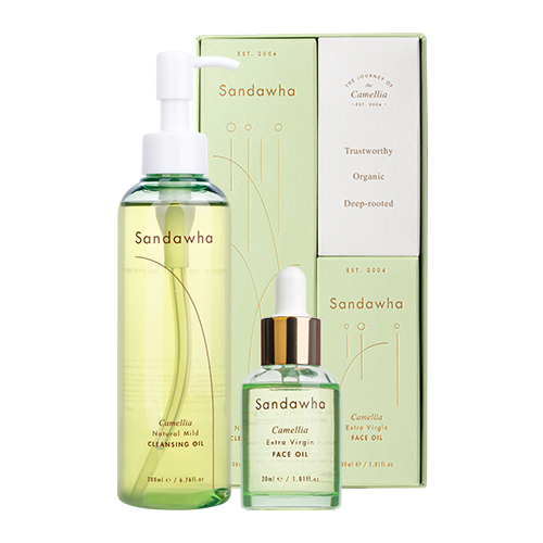 [Sandawha Camellia Oil Duo Set] Images1