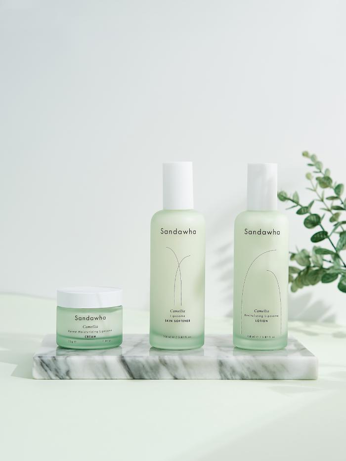 [Sandawha Camellia Daily Skin Care Set] Images2