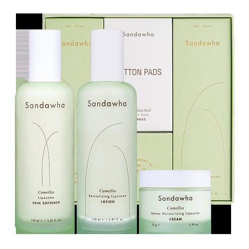 [Sandawha Camellia Daily Skin Care Set] Image
