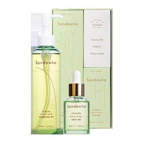 [Sandawha Camellia Oil Duo Set] Image