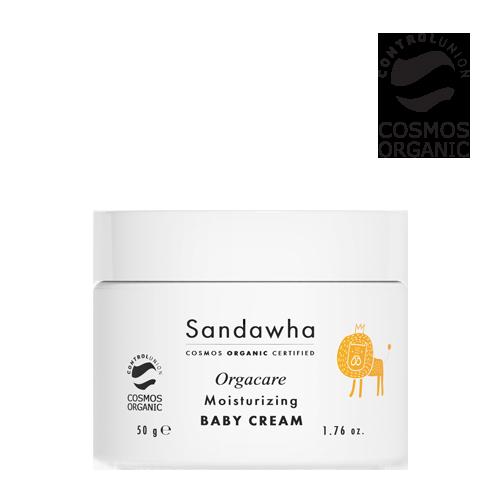 [Sandawha Orgacare Moisturizing Baby Cream] Image